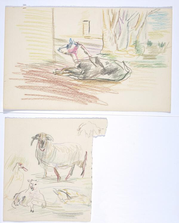 Portwilliam Sketchbook (About 1939 - 1945)