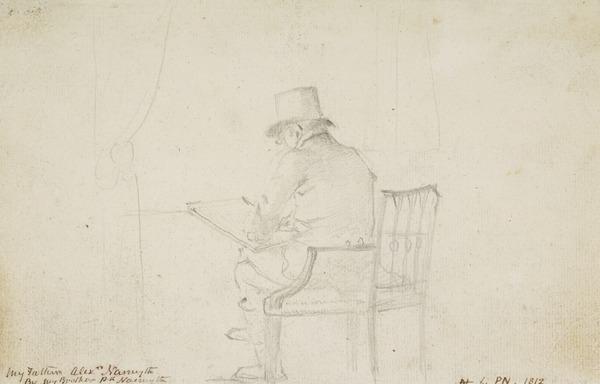 Alexander Nasmyth Sketching