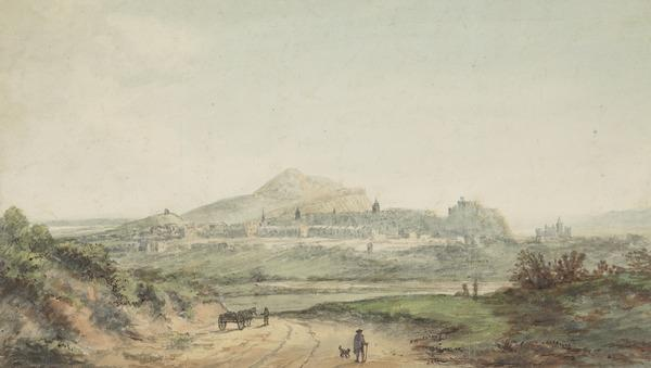 View of Edinburgh from the North West
