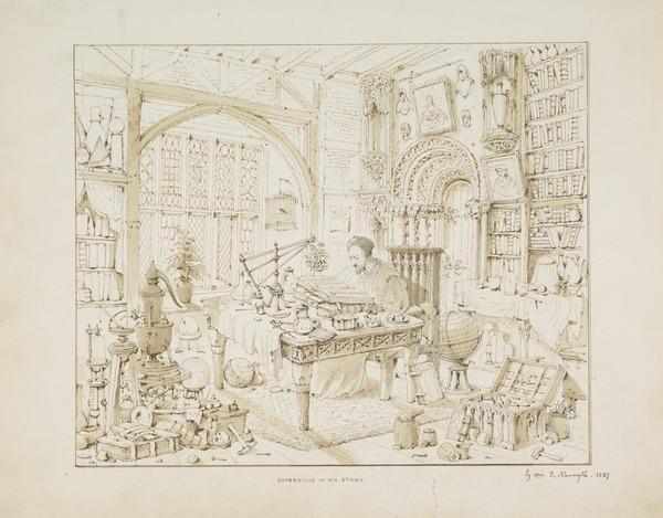 Copernicus in his Study