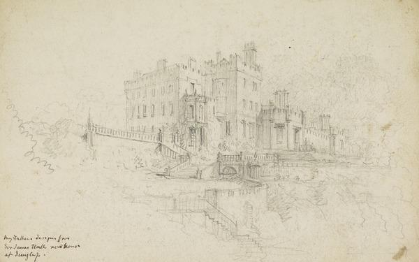 Design for Dunglass Castle [Verso: Sketch of a Gatehouse]