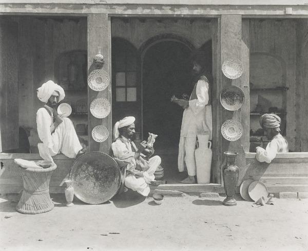 Multan Pottery, Punjab (About 1902)