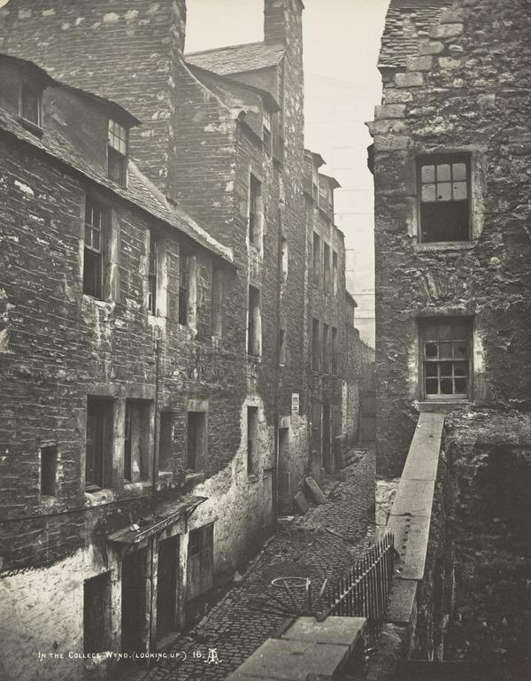 College Wynd, Edinburgh (1871)