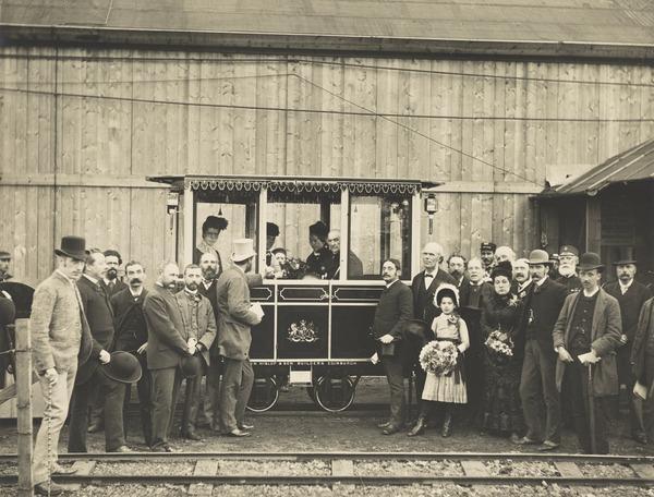 W.E. Gladstone at the Edinburgh Exhibition (29 August 1884)