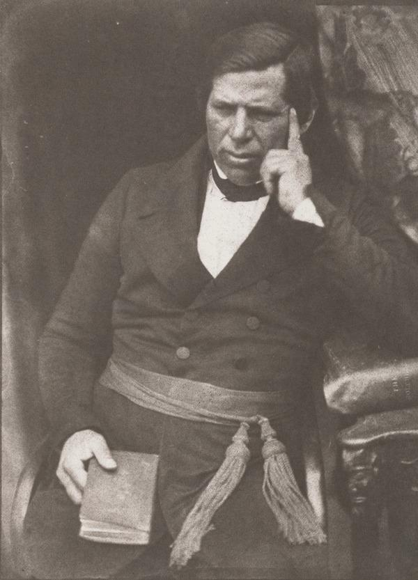 Rev. Peter Jones or Kahkewaquonaby, 1802 - 1856. Indian chief and missionary in Canada [g] (1843 - 1847)