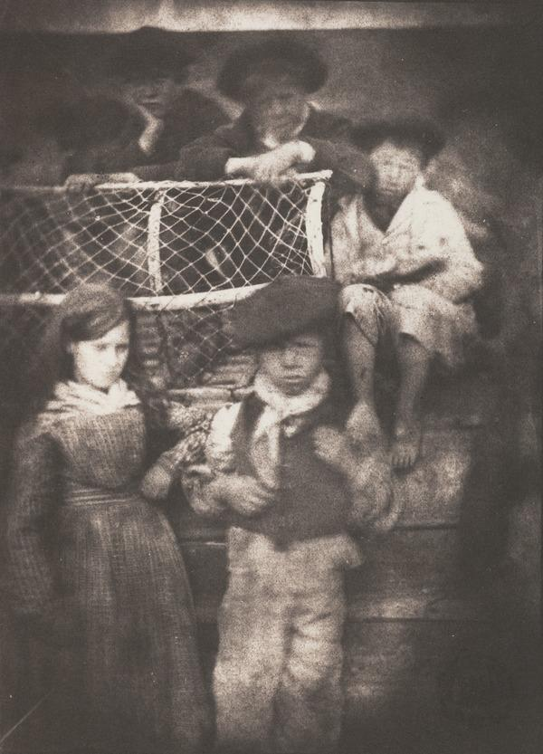 A Group of Newhaven Children (1843 - 1847)