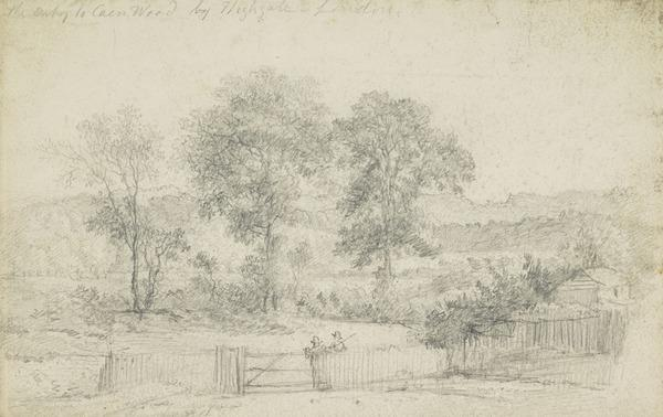 A View in Kenwood Park, London