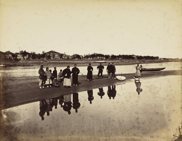Fishing, Hankow 1884 (1884)