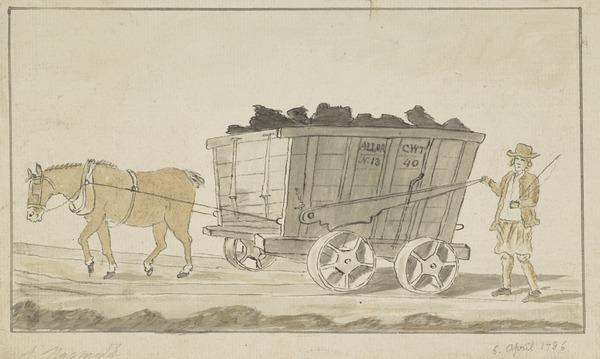 An Alloa Coal Wagon