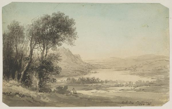Loch Tay, Perthshire (Dated 1829)