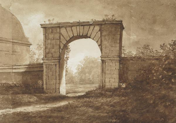 The Gateway of Aberdour Castle