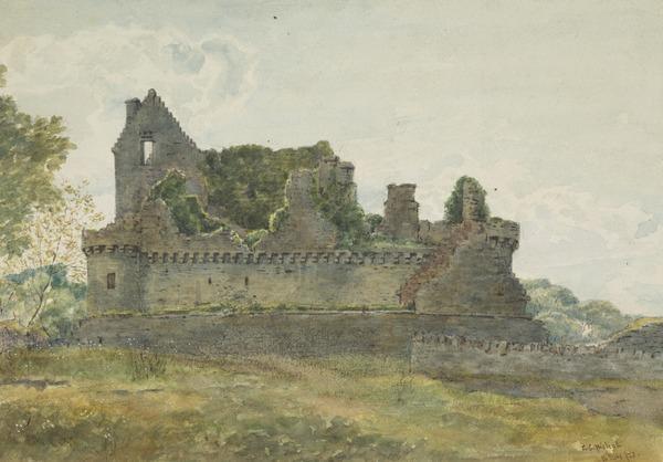 Craigmillar Castle, Edinburgh (Dated June 16, 1873)