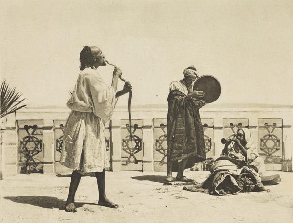 'A Snake Charmer, Tangier'