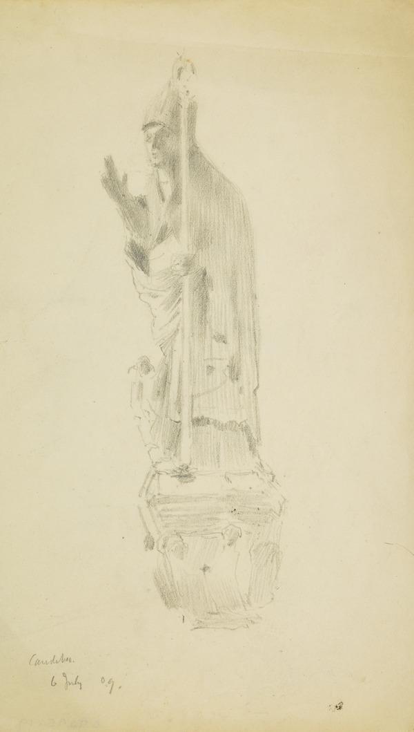 Statue of a Figure, Caudebec (1909)