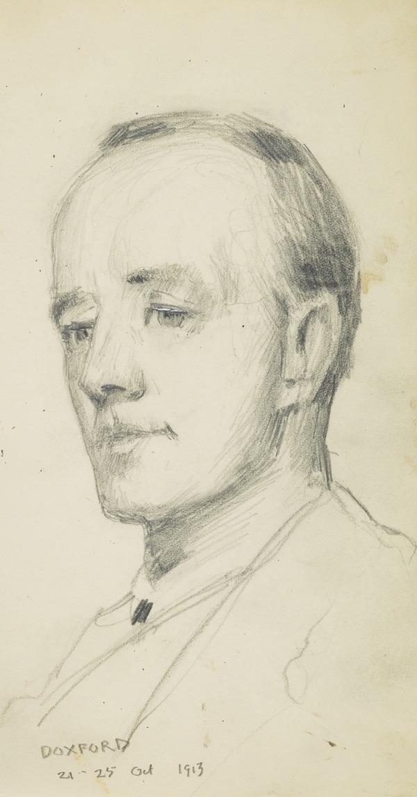 Head of a man (Doxford?) (1913)