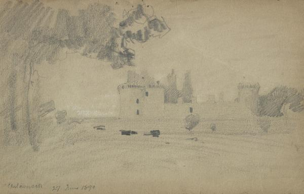 View of a Castle (1890)