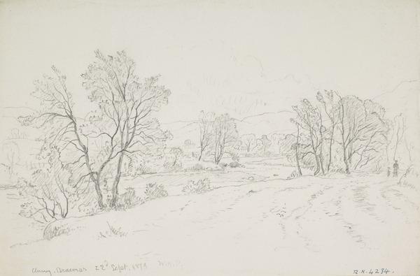 The Clunie Water near Braemar, Aberdeenshire (Dated 1879)