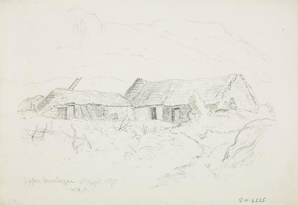 A Croft at Upper Morelaggan (Dated 1875)