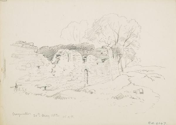 Craigmillar Castle, Edinburgh (Dated 1882)