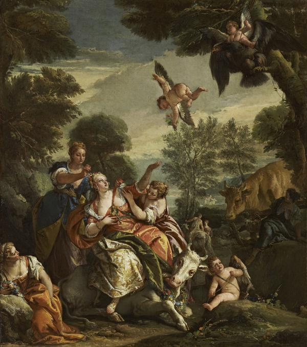 The Rape of Europa (About 1743)