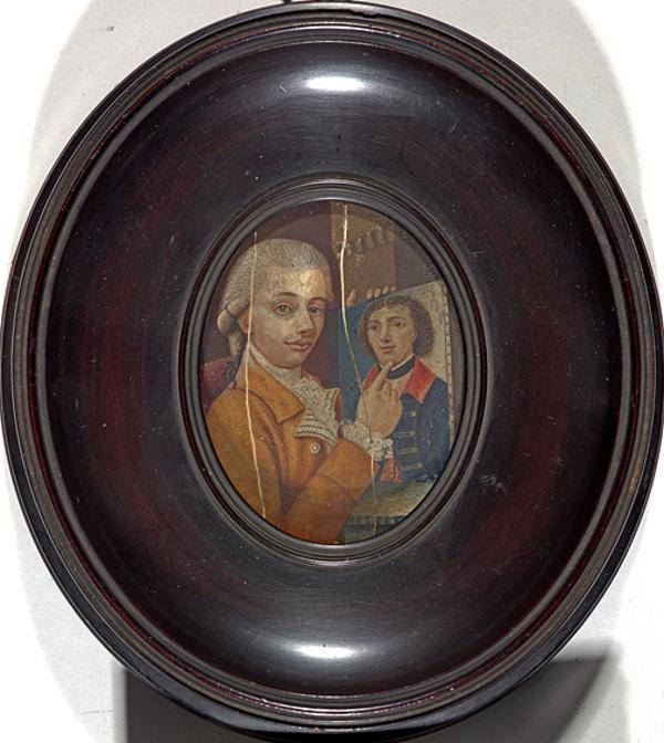 William Low, fl. c 1790. Portrait painter