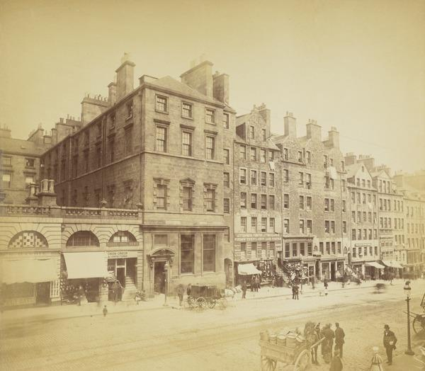 High Street (About 1860)