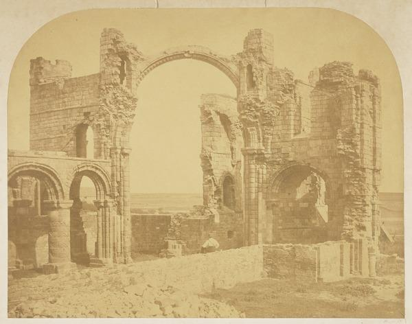 Arch of the Tower, Lindisfarne