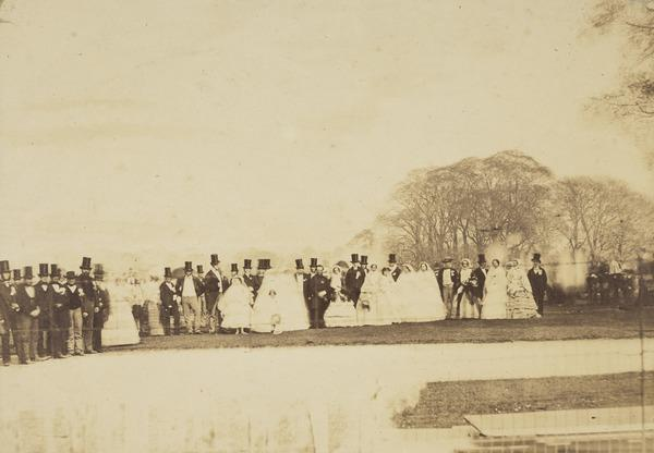 Marriage of Edward Piteairn Campbell and Harriet Humble (April 28th 1858)