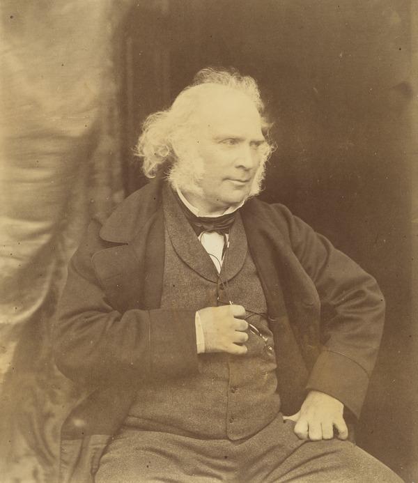 Sir George Harvey, 1806 - 1876. Artist (About 1860)