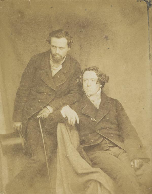 Waller Hugh Paton, 1828 - 1895. Artist. With Sir Joseph Noel Paton, 1821 - 1901. Artist