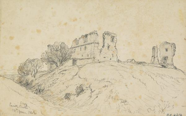 Penrith Castle (Dated 1862)