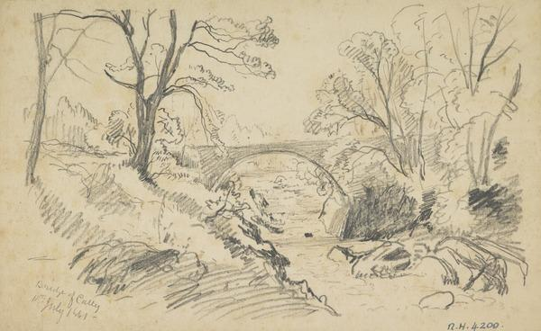 The Bridge of Cally, Perthshire (Dated 1861)