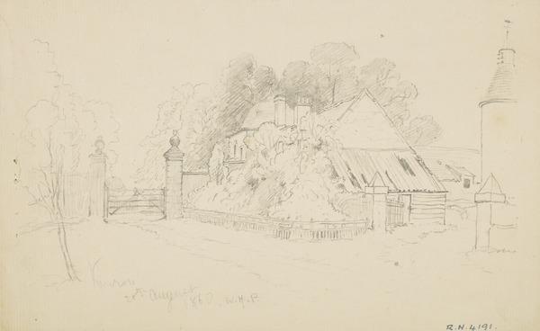 A Farm at Kinross (Dated 1860)