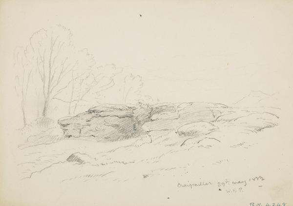 Near Craigmillar Castle, Edinburgh (Dated 1882)