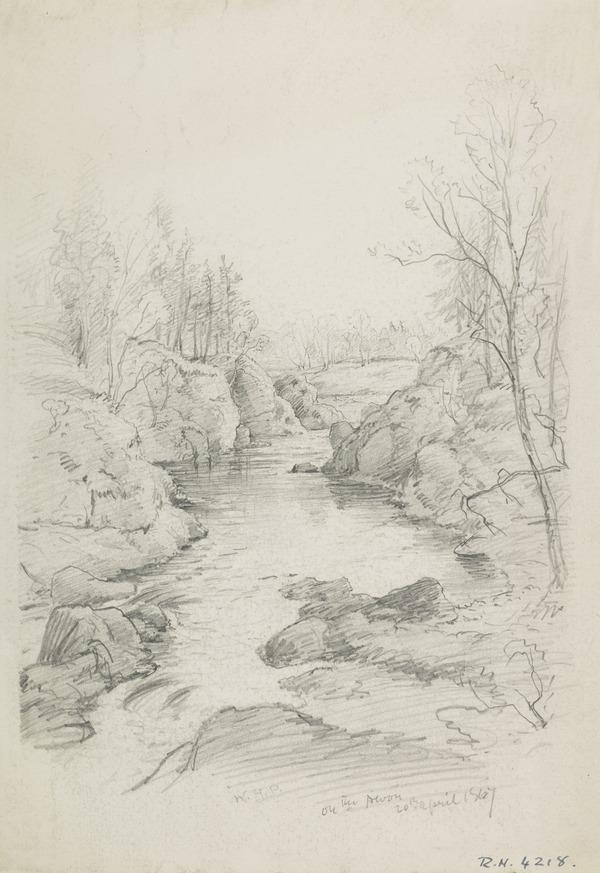 A View of the River Devon, Fife (Dated 1867)