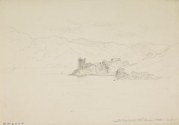 Castle Urquhart, Inverness-shire (Dated 1881)