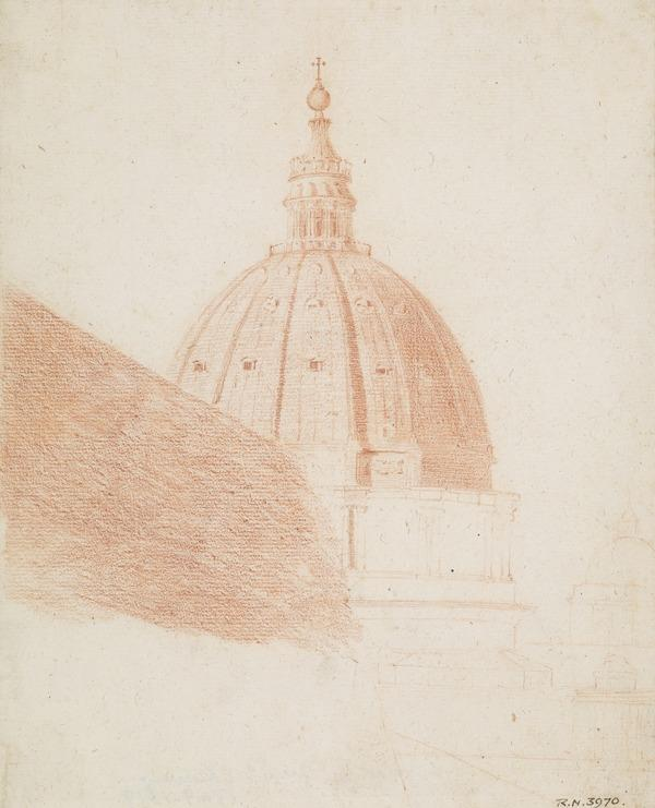 The Dome of St. Peter's Basilica, Rome (About 1787 - 1794)