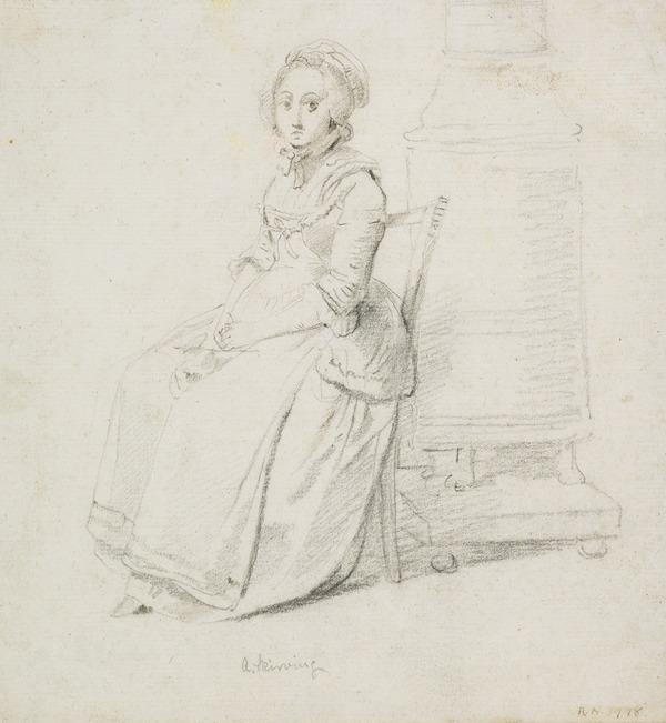 A Seated Lady (About 1780 - 1786)