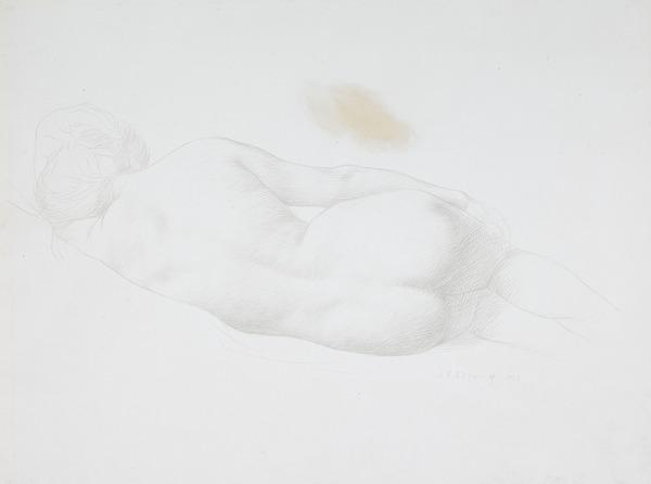 Reclining Woman (Dated 1912)