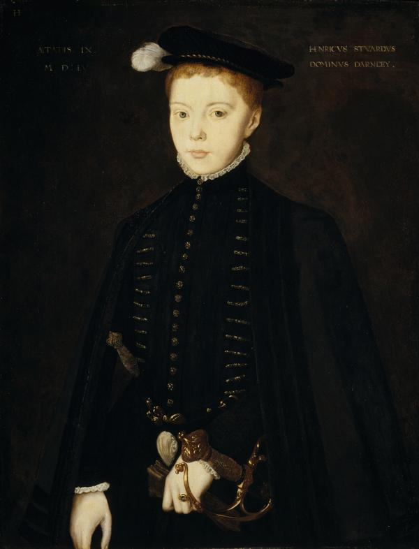 Henry Stuart, Lord Darnley, 1545 - 1567. Consort of Mary, Queen of Scots (1555)