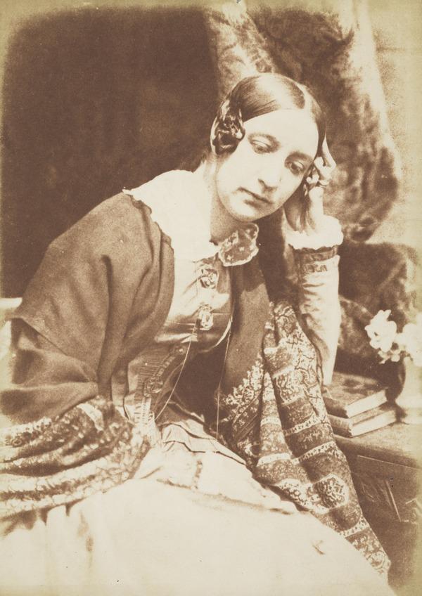 Lady Elizabeth (Rigby) Eastlake, 1809 - 1893. Writer (About 1845)