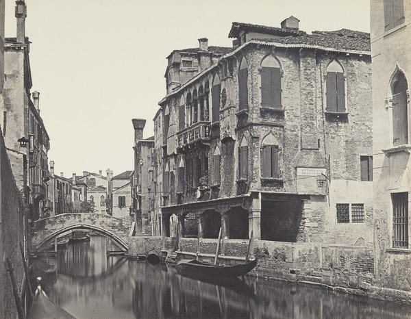 Canale a SS Apostoli, Venice (1850s / 1860s)