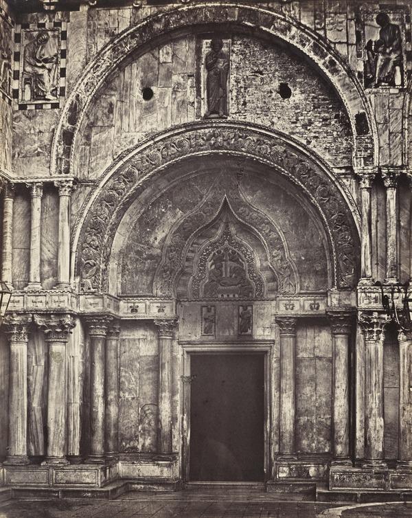 Doorway of the North Facade of St Mark's, Venice (1850s / 1860s)