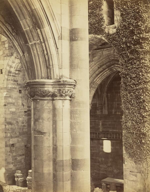 Melrose Abbey, Piers of the Nave (March - April 1866)