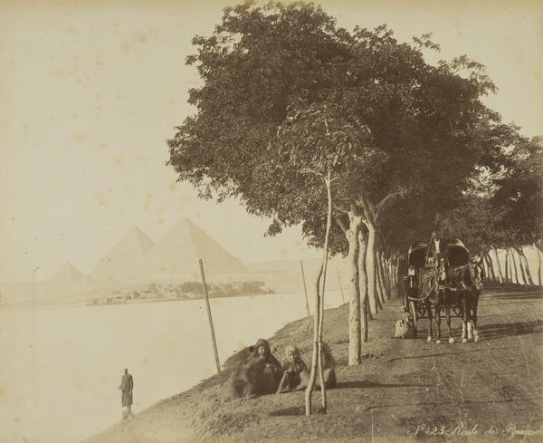 'Route des Pyramides' (About 1890)