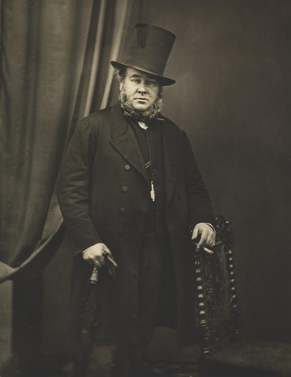 Unknown Man with Top Hat