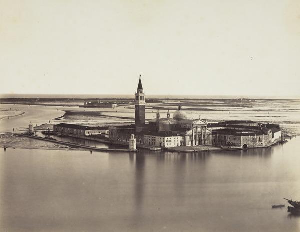 S. Giorgio Maggiore across the Lagoon, Venice (1860s)
