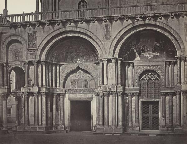 Facade of St Mark's Basilica, Venice