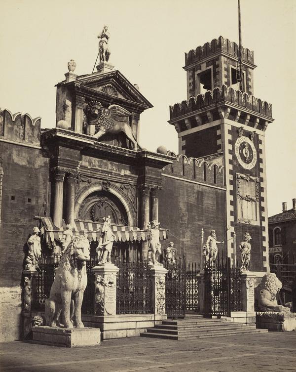 Porta Principale dell Arsenale, Venice