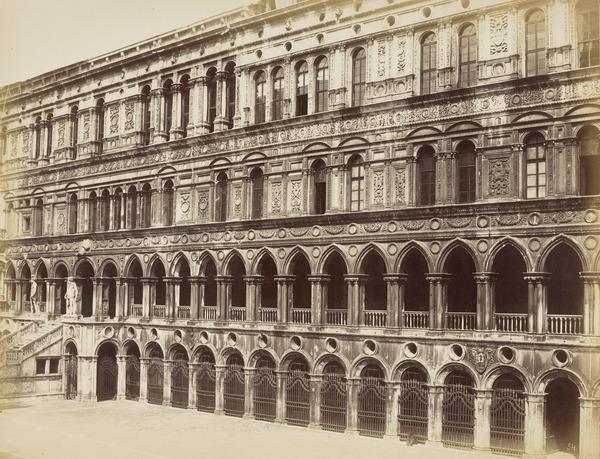 Piazza di San Marco e gli Stendardi [St Mark's Square, Venice]